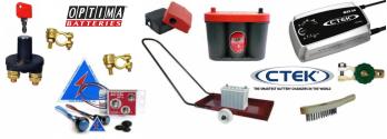 Baterías y accesorios